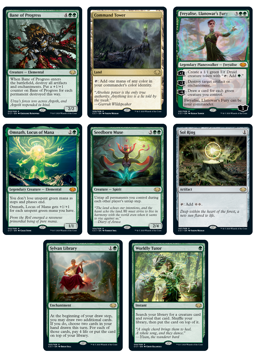 Commander Collection: Green (Dec.4 2020)