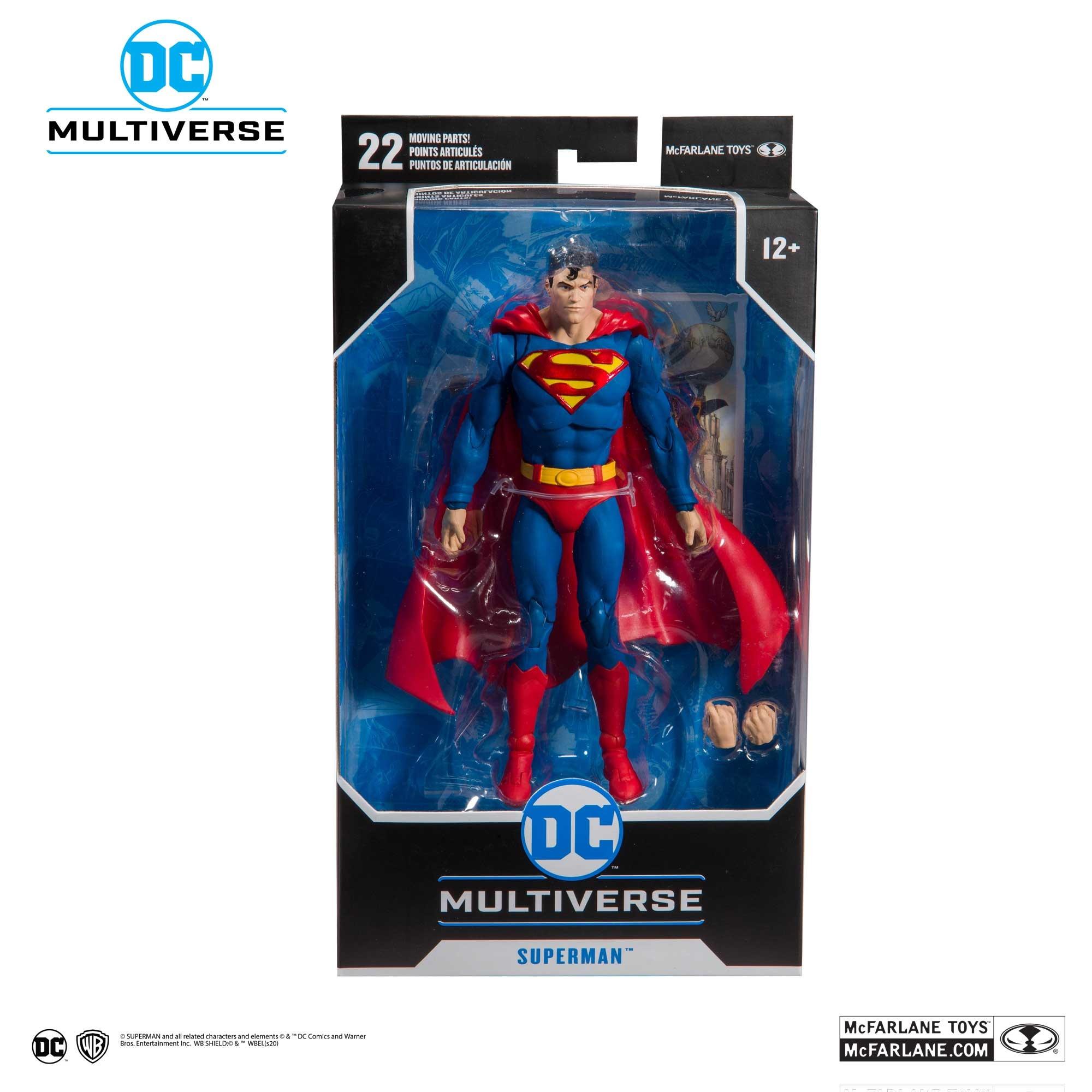 DC Multiverse Superman: Action Comics #1000 Action Figure