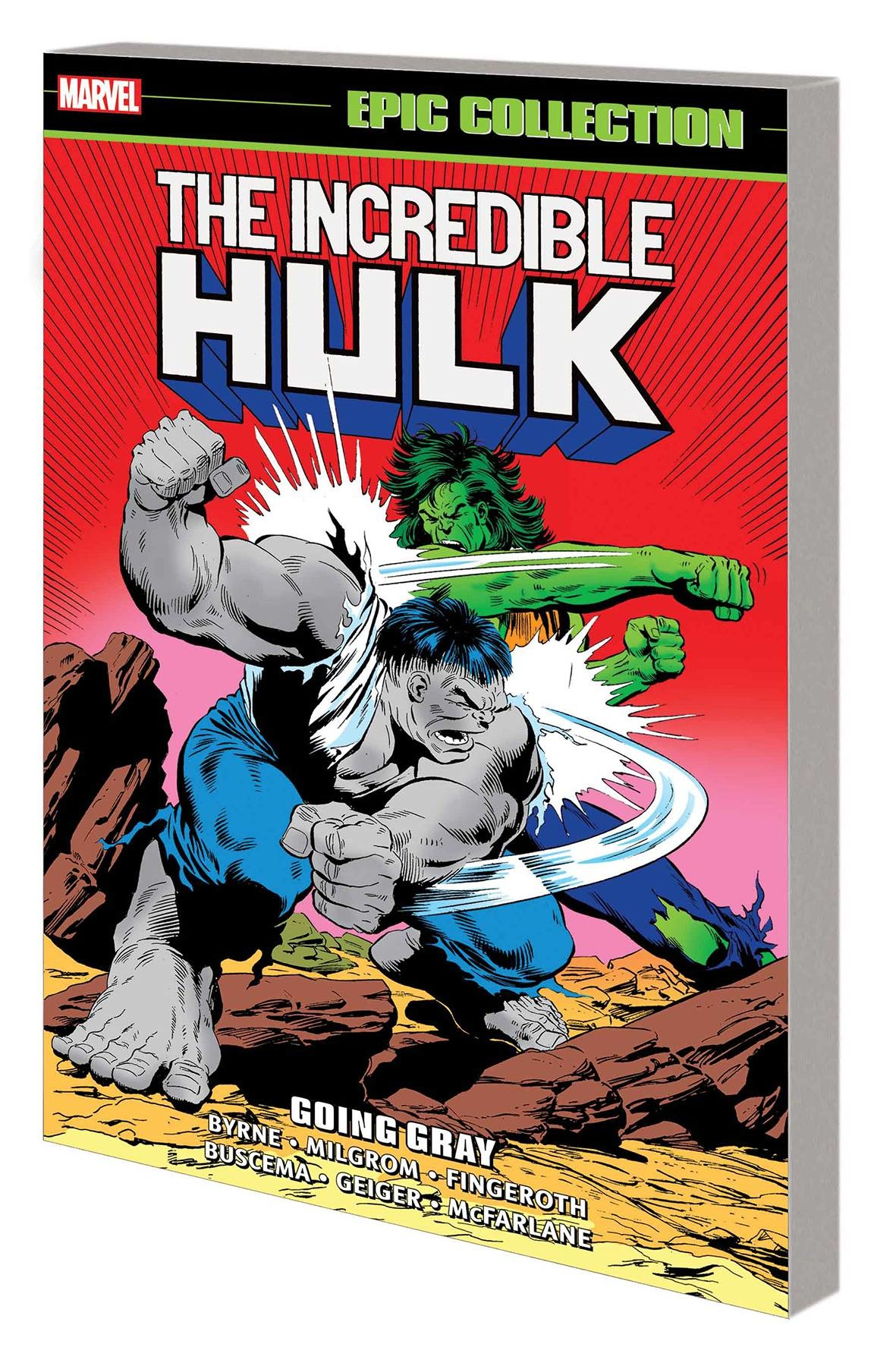 Incredible Hulk: Going Gray