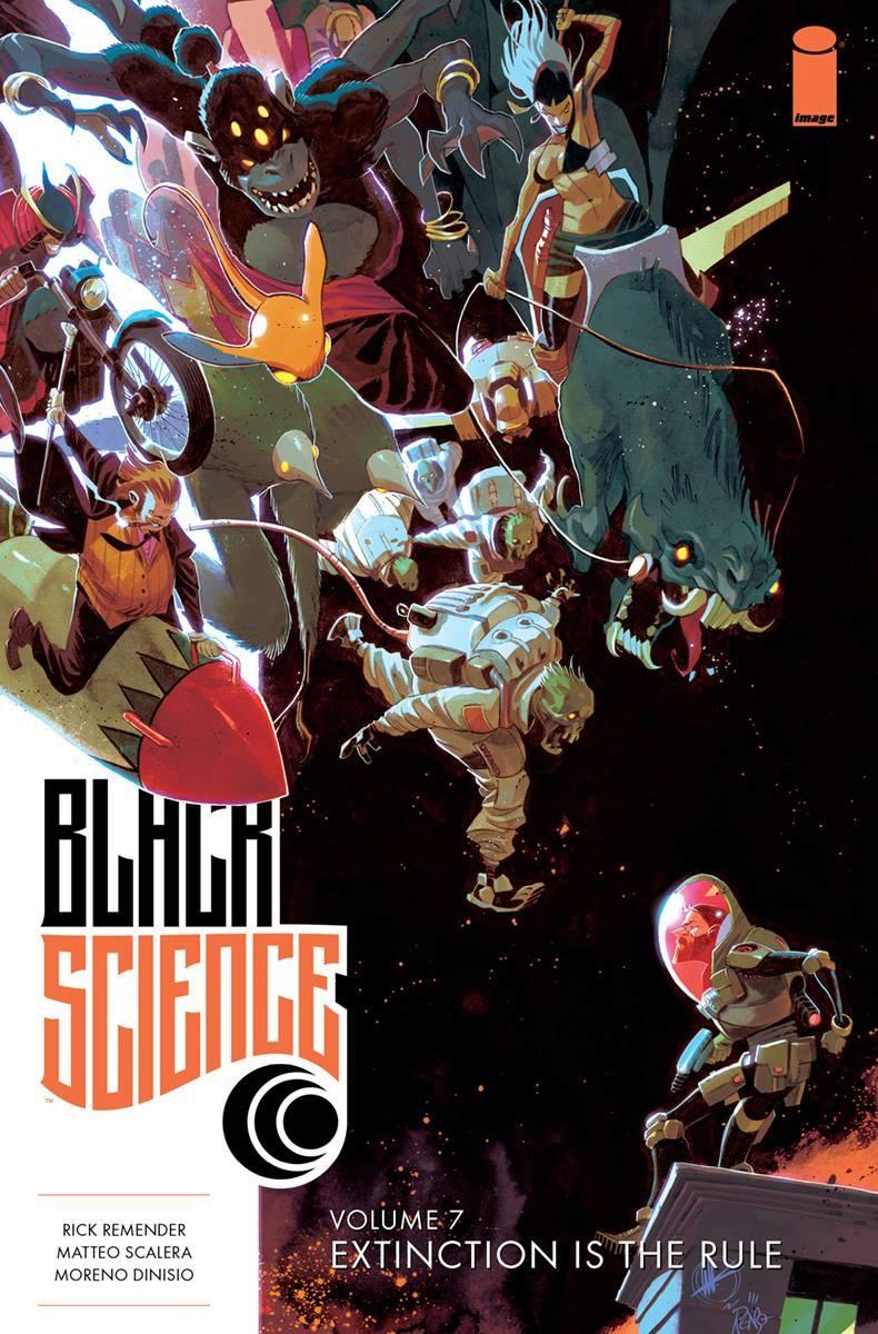 Black Science Vol 7 TP: Extinction is the Rule