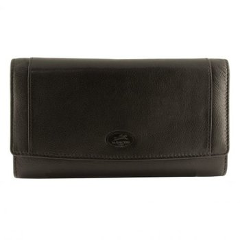 "MANCINI RFID 7 3/4"" LADIES CLUTCH WALLET"