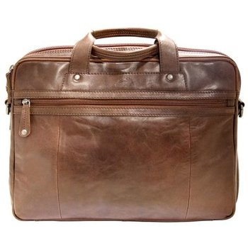 MANCINI DURANGO DOUBLE-COMPARTMENT BRIEFCASE (2017904)