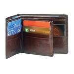 MANCINI RFID SLIM BILLFOLD W/CENTER FLAP (52153)