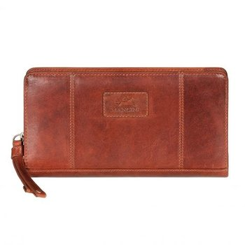 "MANCINI RFID 8"" ZIPPY WALLET"