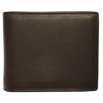 MANCINI SLIM RFID BILLFOLD WITH CENTER FLAP (98-153)