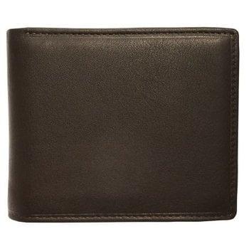 MANCINI SLIM RFID BILLFOLD WITH CENTER FLAP (98-153)