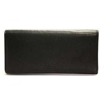 MANCINI 98-302 RFID LADIES 7 1/2 CLUTCH WALLET RED/BLACK