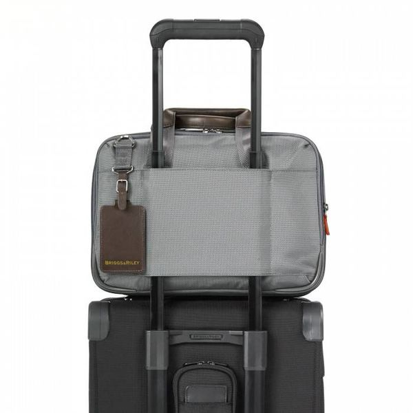 BRIGGS & RILEY @WORK SMALL EXPANADABLE BRIEFCASE (KB415X)