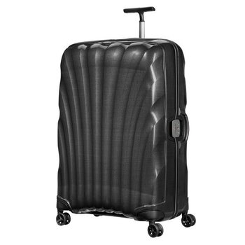 "SAMSONITE BLACK LABEL LITE-LOCKED 30"" LARGE SPINNER, BLACK (764631041)"