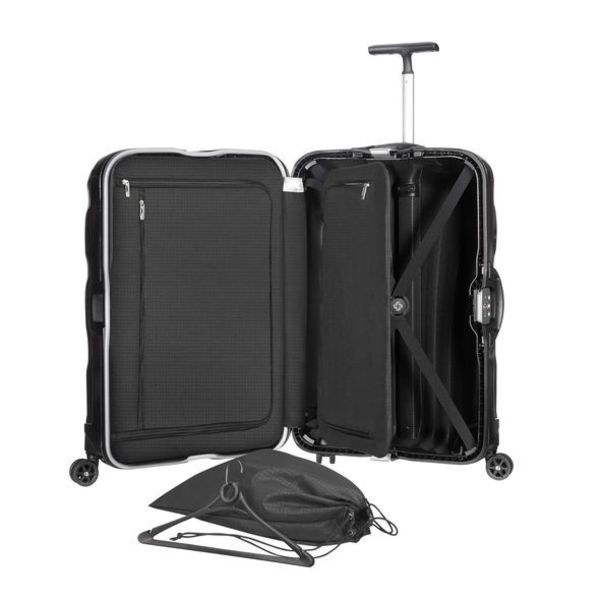 SAMSONITE BLACK LABEL LITE-LOCKED SPINNER MEDIUM BLACK