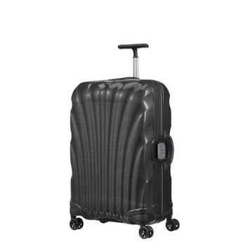"SAMSONITE BLACK LABEL LITE-LOCKED 25"" MEDIUM SPINNER, BLACK (764611041)"