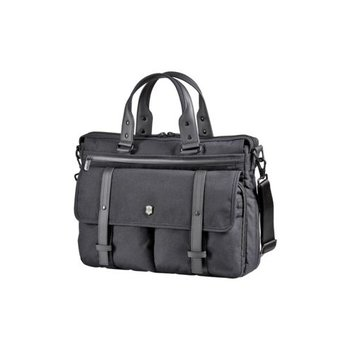 VICTORINOX SWISS ARMY ARCHITECTURE URBAN BRUNSWICK LAPTOP BRIEF, BLACK (602848)
