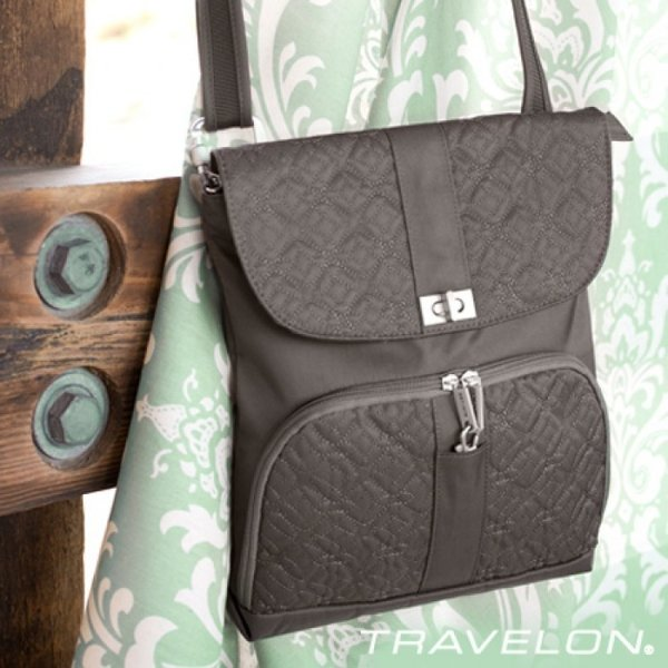 TRAVELON ANTI-THEFT SIGNATURE MESSENGER BAG (43324)