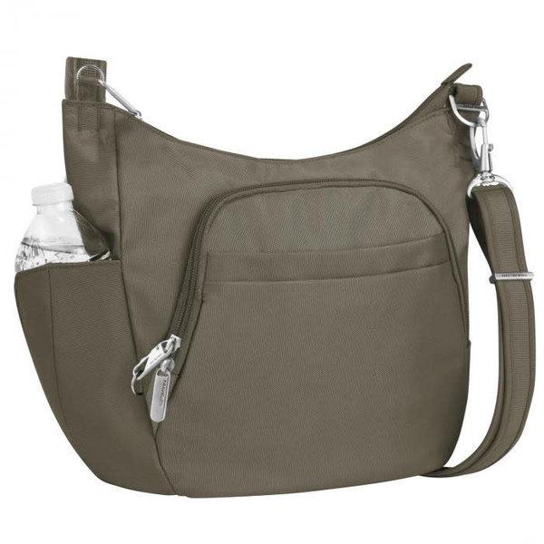 TRAVELON ANTI-THEFT CLASSIC CROSSBODY BUCKET BAG (42757)