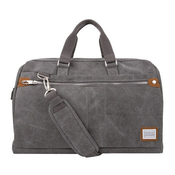 TRAVELON ANTI-THEFT HERITAGE WEEKENDER CARRYALL (33448) PEWTER