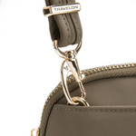 TRAVELON ANTI-THEFT TAILORED CONVERTIBLE CROSSBODY CLUTCH (43202)