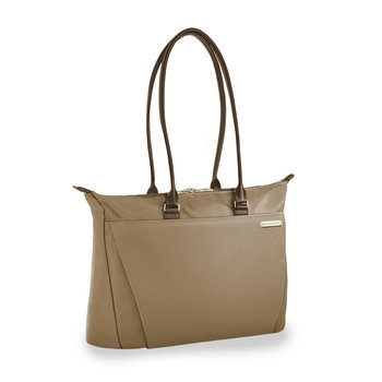 BRIGGS & RILEY SYMPATICO SPECIAL EDITION CARAMEL COLLECTION SHOPPING TOTE