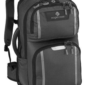 EAGLE CREEK MISSION CONTROL BACKPACK ASPHALT BLACK