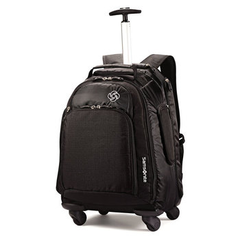 SAMSONITE MVS SPINNER BACKPACK BLACK (46309-1041)