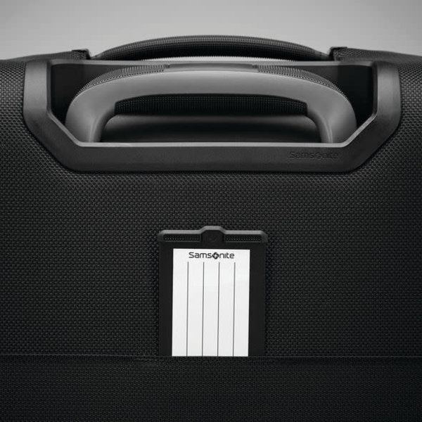 SAMSONITE SILHOUETTE 16 UNDERSEAT CARRY-ON SPINNER, OBSIDIAN BLACK (120405-0413)