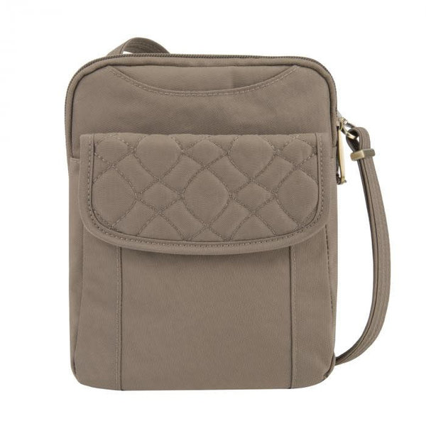 TRAVELON ANTI-THEFT SIGNATURE QUILTED SLIM POUCH (43322)