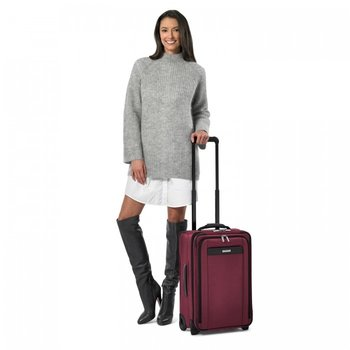 BRIGGS & RILEY TRANSCEND TALL DOMESTIC 2WHL CARRY-ON, MERLOT (TU422VX-46)