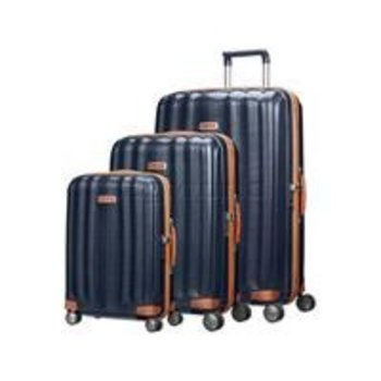 SAMSONITE BLACK LABEL LITE-CUBE DLX SPINNER, MIDNIGHT