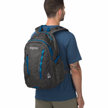 JANSPORT AGAVE BACKPACK, FORGE GREY (JS00T14F)
