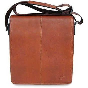 MANCINI TABLET BAG COLOMBIAN, COGNAC (98226)
