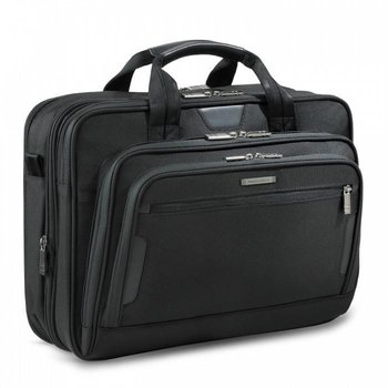 BRIGGS & RILEY @WORK MED EXP BRIEF, BLACK (KB207X)