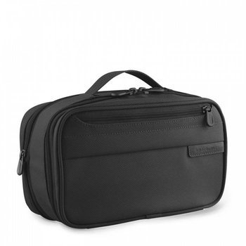 BRIGGS & RILEY EXPANDABLE TOILETRY KIT, BLACK (115X)