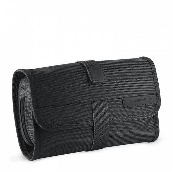 BRIGGS & RILEY COMPACT TOILETRY KIT, BLACK (118)