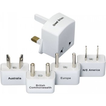 GO TRAVEL ADAPTER KIT, ASSORTED (380)