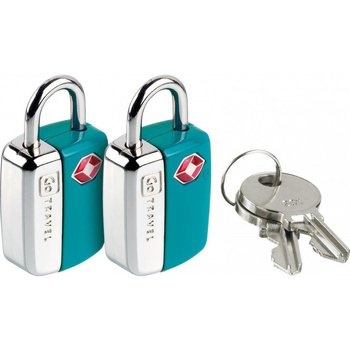 GO TRAVEL TWIN MINI LOCKS, ASSORTED (339)