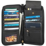 DEREK ALEXANDER FULL ZIP TRAVEL WALLET (FN-2000)