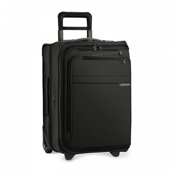 BRIGGS & RILEY BASELINE DOMESTIC CARRY-ON UPRIGHT GARMENT, BLACK (U175)