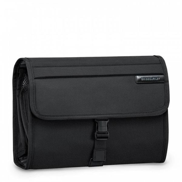 BRIGGS & RILEY DELUXE TOILETRY KIT, BLACK (1026)