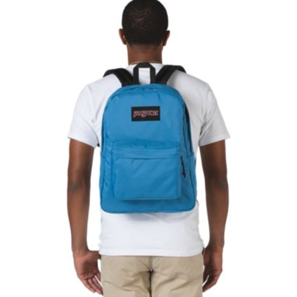JANSPORT BLACK LABEL SUPERBREAK BACKPACK, BLUE JAY (JS00TWK8)
