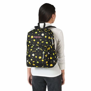 JANSPORT BLACK LABEL SUPERBREAK BACKPACK, HELLO YELLOW (JS00TWK8)