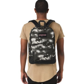 JANSPORT BLACK LABEL SUPERBREAK BACKPACK, LIGHTNING CLOUDS (JS00T6OG)