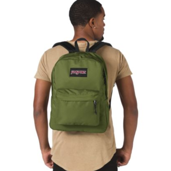JANSPORT BLACK LABEL SUPERBREAK BACKPACK, NEW OLIVE (JS00TWK8)