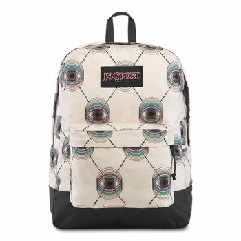 JANSPORT BLACK LABEL SUPERBREAK BACKPACK, PSYCHIC EYE (JS00T6OG)