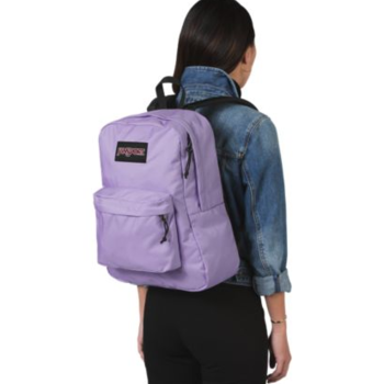 JANSPORT BLACK LABEL SUPERBREAK BACKPACK, PURPLE DAWN (JS00TWK8)