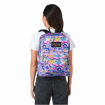 JANSPORT BLACK LABEL SUPERBREAK BACKPACK, RAINBOW DELIGHT (JS00TWK8)