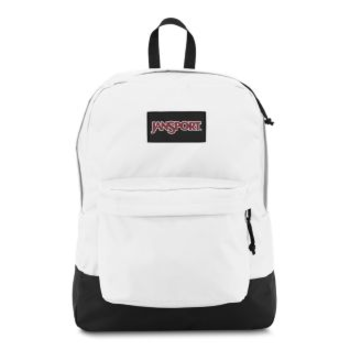 JANSPORT BLACK LABEL SUPERBREAK BACKPACK, WHITE (JS00T6OG)