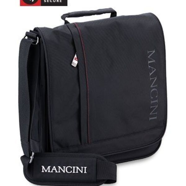 "MANCINI MINI TABLET/LAPTOP CASE 10.1"", BLACK (91045)"