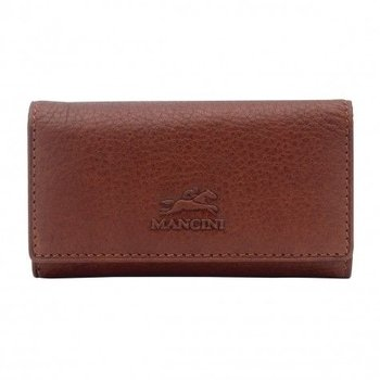MANCINI Trifold Key Case with Detachable Key Fob (89170)