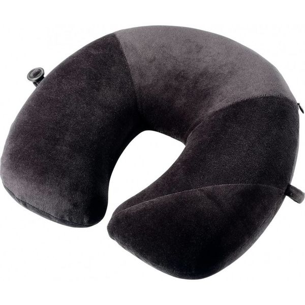 GO TRAVEL MEMORY PILLOW, BLACK (457KK)