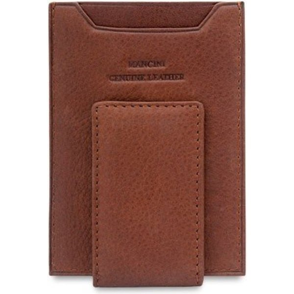 MANCINI BILLCLIP & CC WALLET, BLACK (89942)
