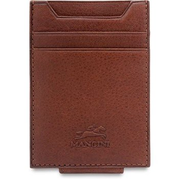 MANCINI BILLCLIP & CC WALLET, BROWN (89942)